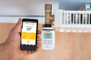 Home automation thermostat heat control longmont colorado
