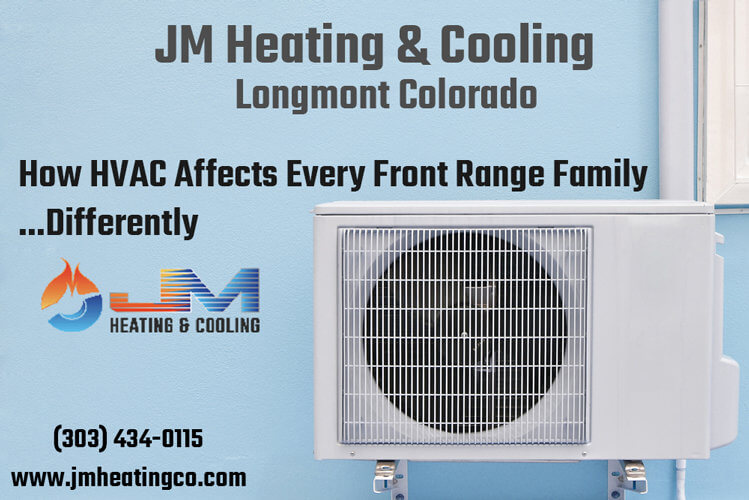 How HVAC Affects Every Front Range Family…Differently