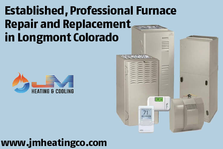 Established, Professional Furnace Repair and Replacement in Longmont Colorado